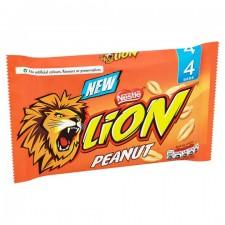 Nestle Lion Bar Peanut 4 Pack