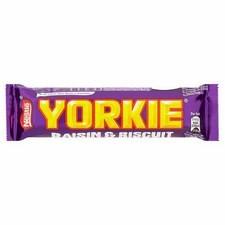 Nestle Yorkie Raisin And Biscuit 44g