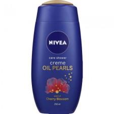 Nivea Creme and Oil Pearls Shower Cream Cherry Blossom 250ml