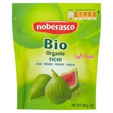 Noberasco Organic Soft Dried Figs 200g