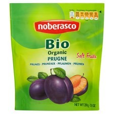 Noberasco Organic Soft Pitted Prunes 200g