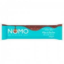 Nomo Vegan and Free From Caramel and Sea Salt Chocolate Bar 38g