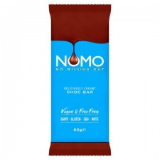Nomo Vegan and Free From Deliciously Creamy Chocolate Bar 85g
