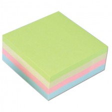 OfficeTeam Repositional Notes Pastel 400 Pack