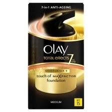 Olay Total Effects Touch Of Foundation Moisturiser BB Cream Medium 50ml
