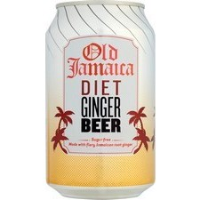 Old Jamaica Light Ginger Beer 330ml Can