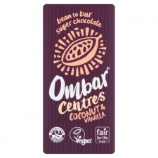 Ombar Centres Coconut and Vanilla Vegan Chocolate 35g