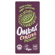 Ombar Centres Pistachio Vegan Chocolate 35g
