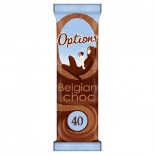 Options Belgian Chocolate Sachet 11g