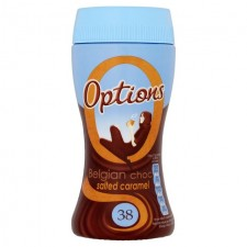 Options Belgium Choc Salted Caramel 220g