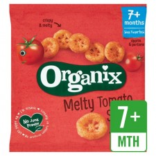 Organix 7 Month Finger Foods Organic Crunchy Tomato Slices 20g