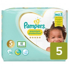 Pampers Premium Protection Nappies Size 5 x 35