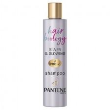 Pantene Hair Biology Purple Shampoo Silver and Glowing 250ml