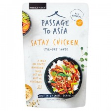 Passage to Asia Satay Chicken Stir Fry Sauce 200g