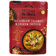 Passage to India Sri Lankan Coconut and Cashew Chicken Simmer Sauce 200g