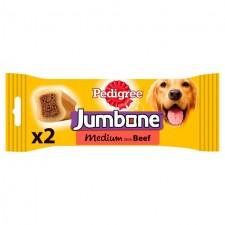 Pedigree Jumbone Beef for Medium Dogs 2 Pack
