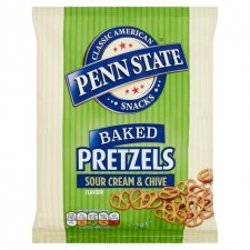 Penn State Pretzels Sour Cream and Chive 175g