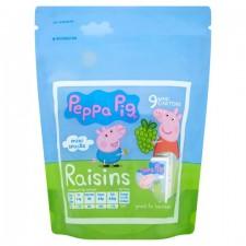 Peppa Pig Mini Snack Raisins 9 x 14g
