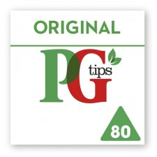 PG Tips Tea Pyramid 80 Teabags
