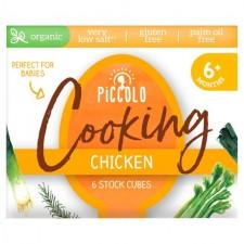 Piccolo Organic Stock Cubes Chicken 6 x 8g