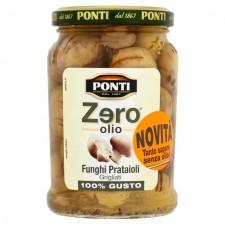 Ponti Zero Olio Grilled Champignon Mushrooms 314ml