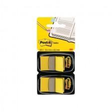 Post It Standard Index Twin Pack 25 x 44mm 50 per pack
