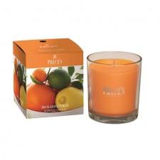 Prices Candles Sicilian Citrus Boxed Jar
