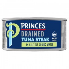 Princes Drained Tuna Steak with a Little Spring Water 110g