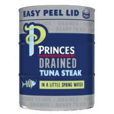 Princes Drained Tuna Steak with a Little Spring Water 3 x 110g
