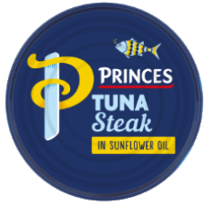 Princes Tuna Steaks In Sunflower Oil 185g