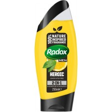 Radox Mens Shower Gel Lemon And Tea Tree 250ml