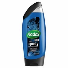 Radox Mens Shower Watermint And Sea Minerals 250ml