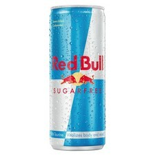 Red Bull Sugar Free Drink 250ml can