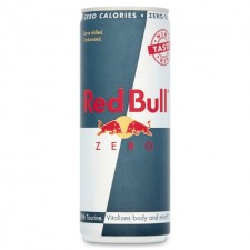 Red Bull Zero Calories Energy Drink 250ml Can