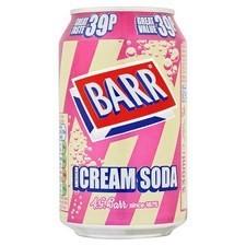 Retail Pack Barr American Cream Soda 24 x 330ml