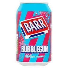 Retail Pack Barr Bubblegum 24 x 330ml