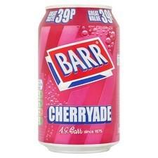 Retail Pack Barr Cherryade 24 x 330ml
