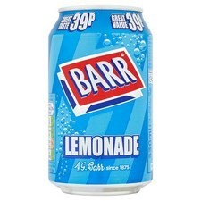 Retail Pack Barr Lemonade 24 x 330ml