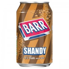 Retail Pack Barr Shandy Beer and Lemonade Flavour 24x330ml