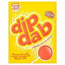 Retail Pack Barratt Dip Dab Sherbet with Lolly 50 x 23g
