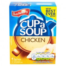 Retail Pack Batchelors Cup A Soup Original Chicken 9 x 4 Sachet Packs