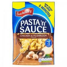 Retail Pack Batchelors Pasta N Sauce Chicken And Mushroom 7x99g