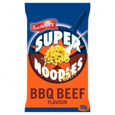 Retail Pack Batchelors Super Noodles Barbecue Beef Flavour 8x100g