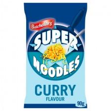 Retail Pack Batchelors Super Noodles Mild Curry Flavour 8x100g