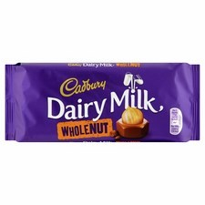 Retail Pack Cadbury Whole Nut 16 x 120g