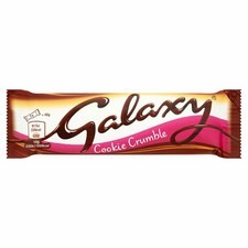 Retail Pack Galaxy Cookie Crumble 24x40g pack