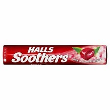 Retail Pack Halls Soothers Cherry 20x45g