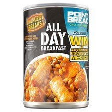 Retail Pack Hunger Breaks All Day Breakfast 6x395g