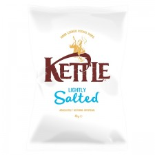 Retail Pack Kettle Chips Lightly Salted 18 x 40g Box
