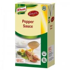 Retail Pack Knorr Garde Dor Pepper Sauce 1ltr x 6
